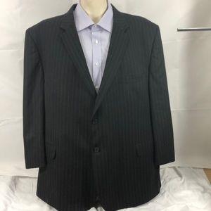 Pronto uomo blackpinstripe blazer 54R